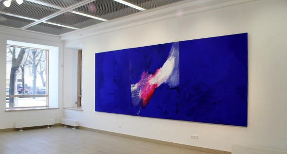 Öl auf Leinwand, je 210x510cm, 2010