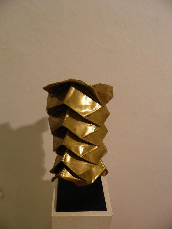 Pentagones Bronze 30*15*10cm, 2009, Ed. 1/10