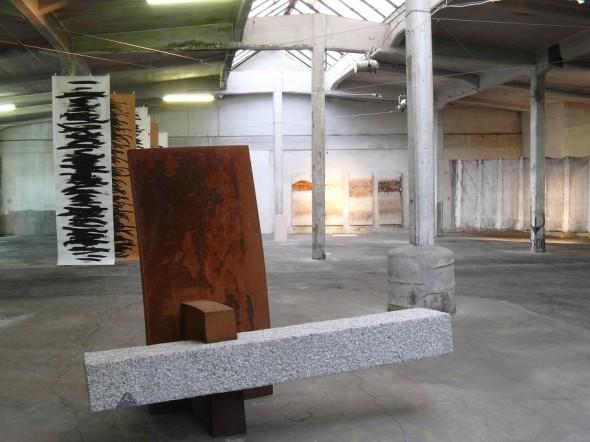 Cathedra II Granit, Cor Ten Stahl,178*224*120 cm,2008