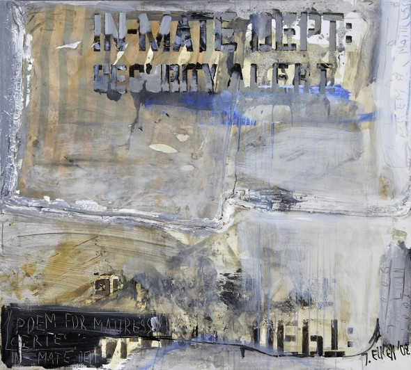 Poem for a mattress. In-mate 
