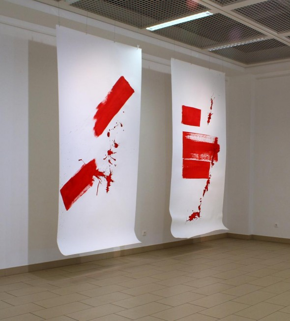 Chinaink on paper, 300*150cm, 2012