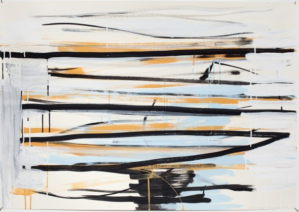 Syria_Lines I Aquarell und Gouache auf Papier 70x100cm, 2013