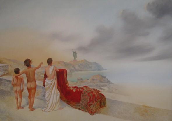 The 3rd Rome Öl auf Leinwand, 100cm140cm, 2011
