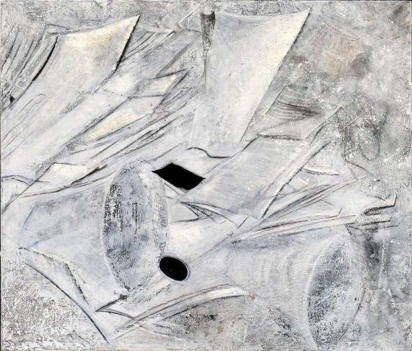 oT(2010) Öl auf Leinwand, 100 cm 40cm