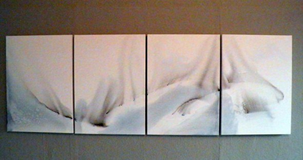 Gouache auf Leinwand 80x60cm, 2014
