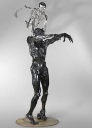 Colin Maillard Bronze, 265x150x120cm, 2008