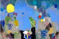 Jardin Majorelle  Öl, Pastell auf Leinwand,  180 x 260 cm, 2016