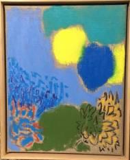 petit jardin Öl und Pastell auf Leinwand 30 x 24 cm, 2016