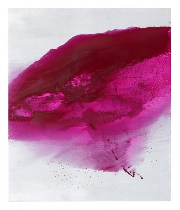 Ohne Titel Öl und mixed media auf Leinwand 200x170cm, 2016