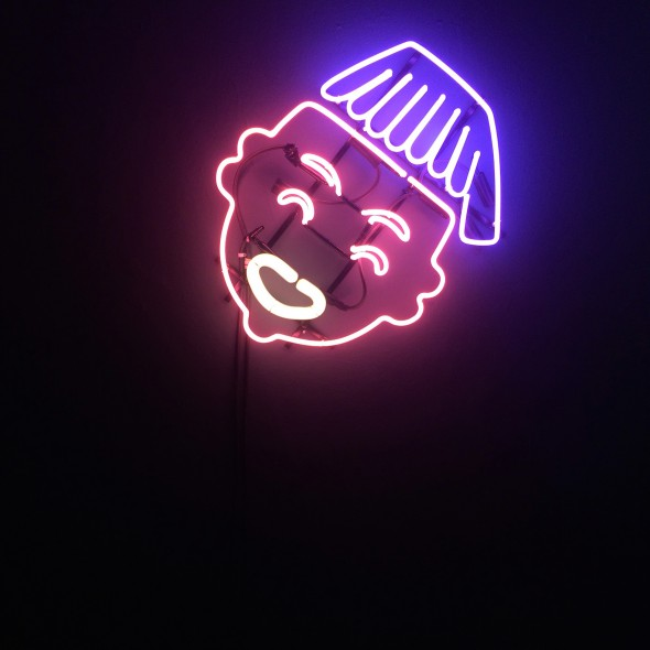 Africanella Neon lamps, ca. 40x50cm, 2016