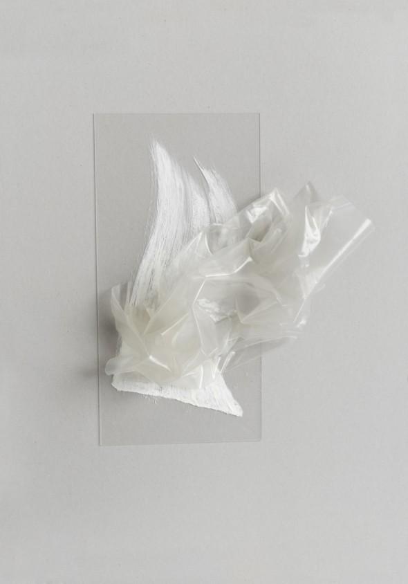 Ohne Titel Plexiglass, PVC, Ölfarbe 50 x 42 x10cm, 2016