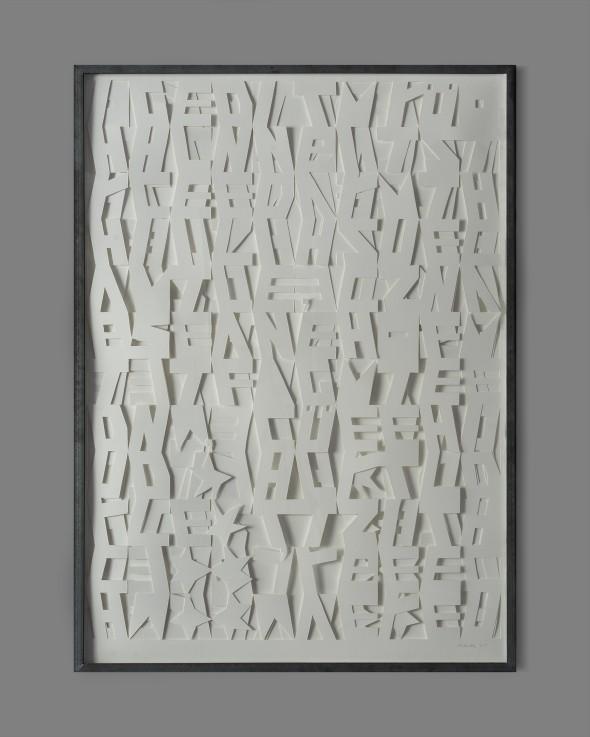 Josephine Hubalek Achmatoon Paper Outcuts 107x78cm, 2014