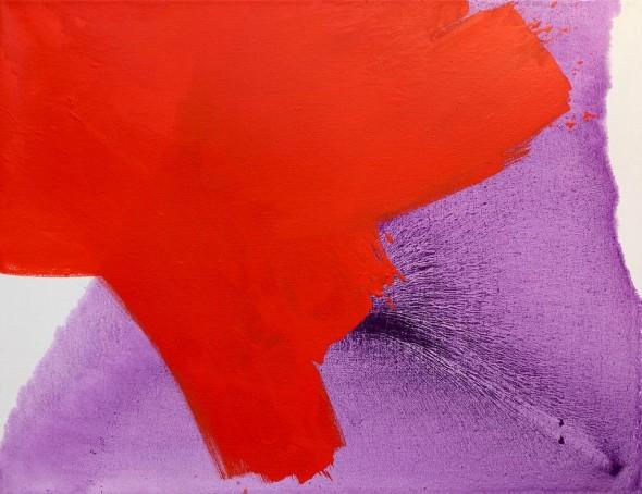 Ohne Titel Öl auf Leinwand, 100 x 120 cm, 2010