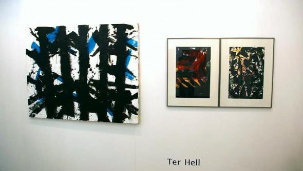 ter Hell New Worldorder Acryl auf Leinwand 100*140cm, 2003 Acryl auf Papier, 65*50cm, 2010