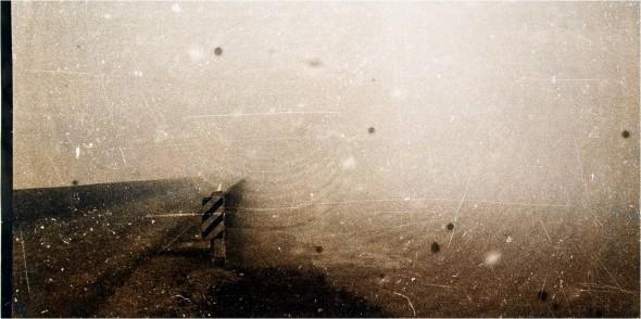 Remigijus Treigys Fragment in a mist toned  fiberbased silver print, 27x51,5cm, 2003