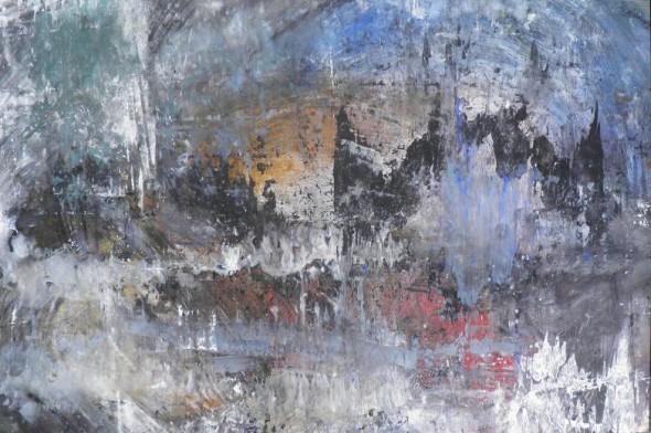 Pascual Jordan Öl auf Leinwand, 280*180cm,2011