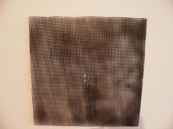 M L R Druck,Spray auf Leinwand,  60x60cm, sig., dat. 1990