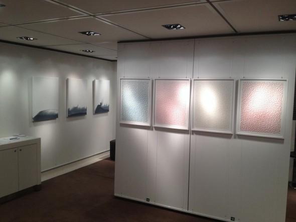 Malte Kebbel 3D-Siebdruck auf Papier, 50 x 65 cm, 2014  Pascual Jordan Guache auf Leinwand, 80x60cm, 2014