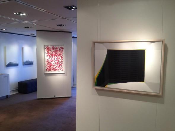 Installationsansicht Galerieraum