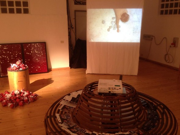 Jean Ulrick Desert Constallation Installation 2015  Macrocosmi-Video