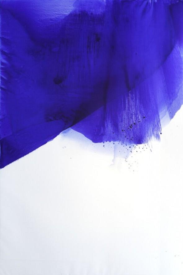 Ingebeorg zu Schleswig-Holstein Island Blue 2 Öl auf Leinwand 300x200cm, 2015
