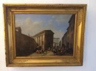 QLE TMPLE D'AUGUSTE ET DE LIVIE Öl auf Leinwand 73x53cm, ca, 1750