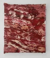 Grant Vetter Lacerate oil on canvas over panel, 80cm*70cm*8cm, 2009