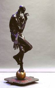Chut Chut Cher Daniel Bronze, 173x50*50cm, Ed.2/8, Guss: Landowski Paris2001