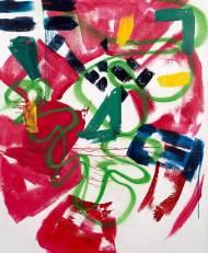 Ter Hell Zoom Acryl auf Leinwand, 200*180cm, 2005