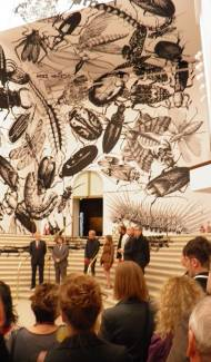 Opening of Mediations Biennale Nationalmuseum Poznan Freitag 14.September Curatoren Tomasz Wendland, Friedhelm Mennekes, Denise Carvalho, FumioNanjo