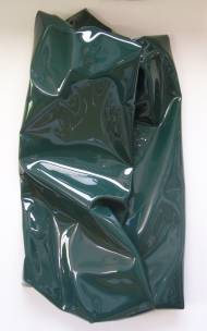 Stefano Ronci uiyt Resin and acrylic on canvas, 100x50x19cm, 2012