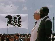 Videostill aus Deutschem Rundfunkarchiv 1979 Erich Honecker und Samora Rachel bei der Unterzeichnung der Gastarbeiterverträge 1979