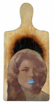 Laura Lopez Paniagua Mother 1 mixed media on wood, 2012
