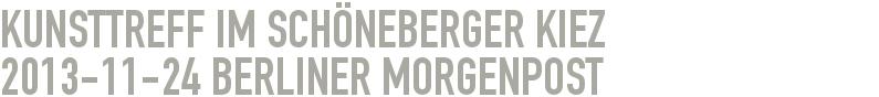 Kunsttreff im Schöneberger Kiez 2013-11-24 - Berliner Morgenpost